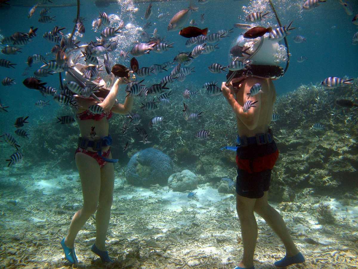 Solar Sea Walk, Mauritius