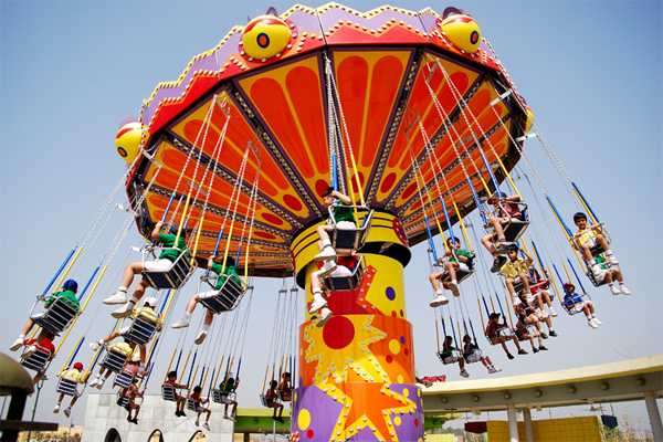 amusement parks in delhi, adventure island