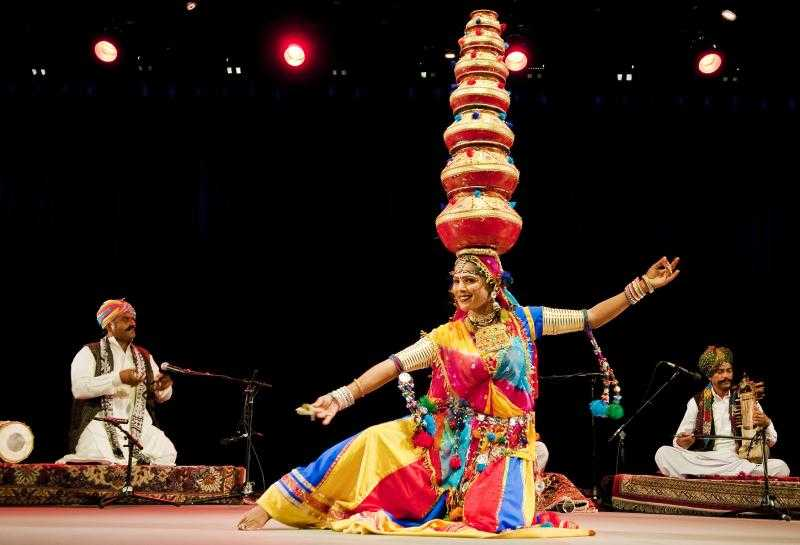 abhaneri festival, bhawai dance