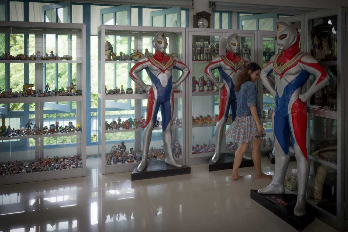 Figurines at Million Toy Museum, Ayutthaya