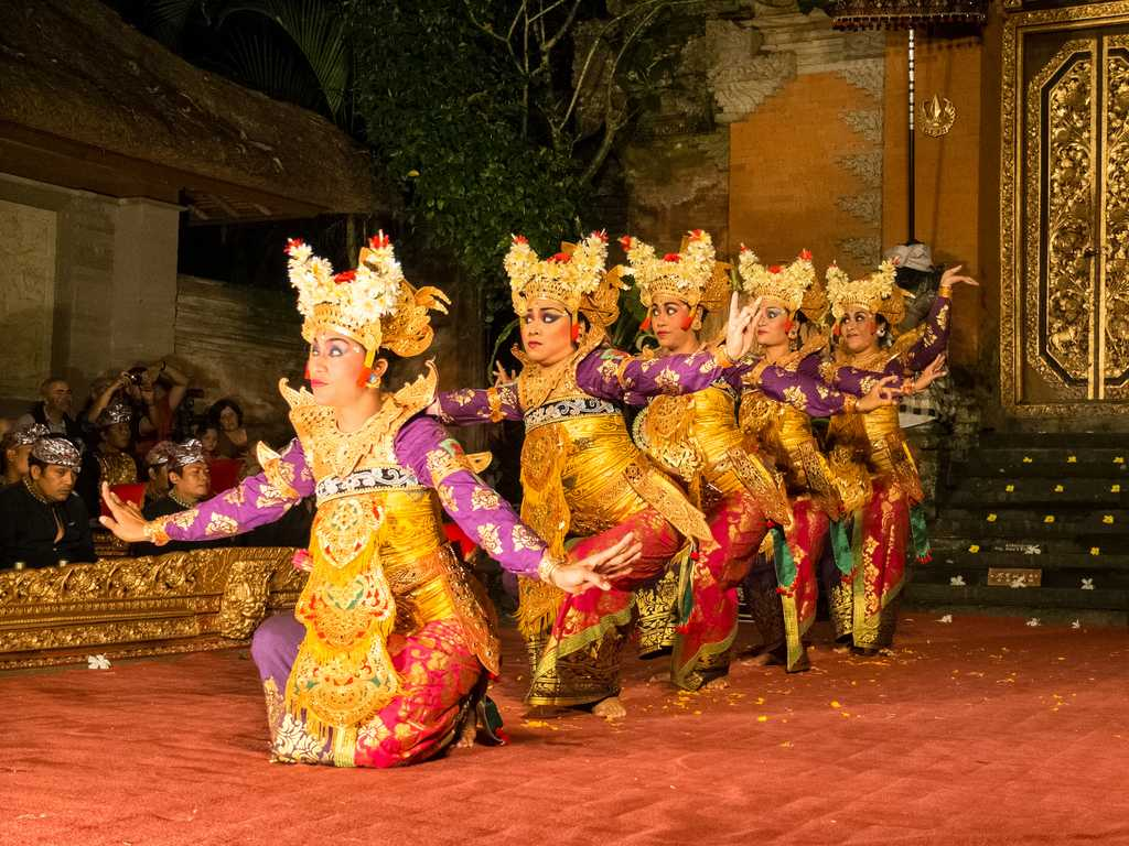 Balinese Dance at Ubud Palace