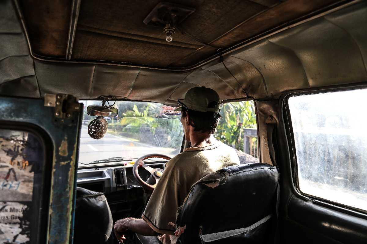 Bemo in Kuta Lombok