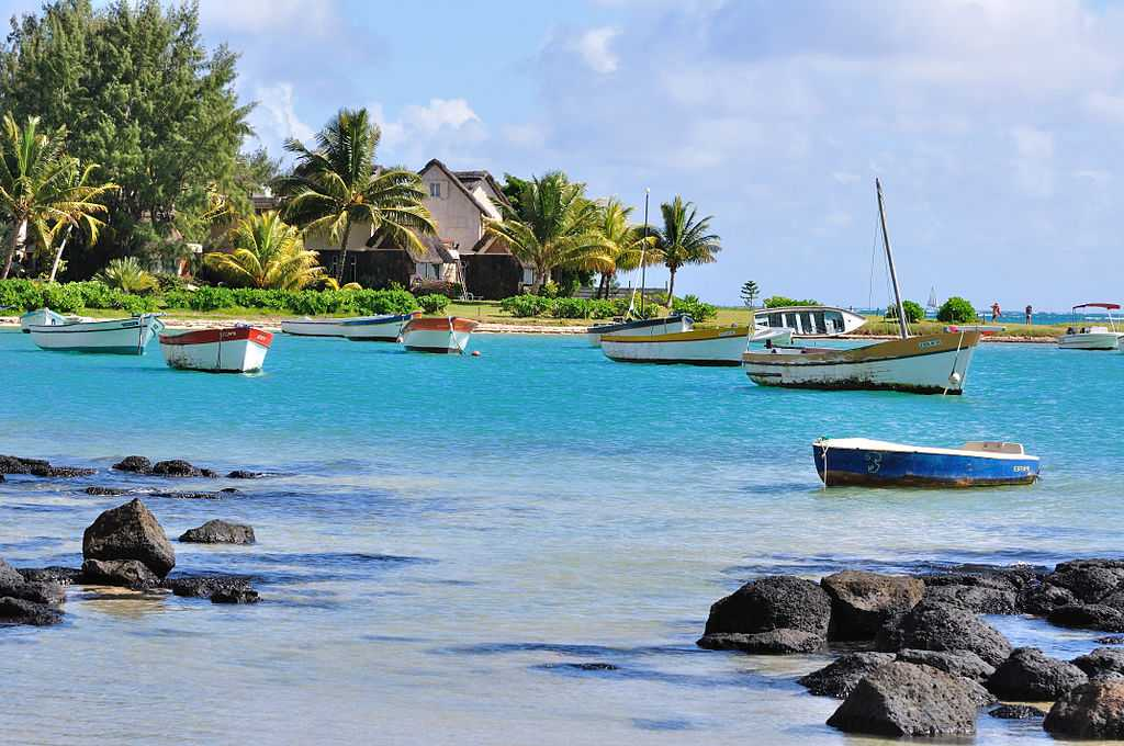 Riviere du Rempart, Mauritius in July