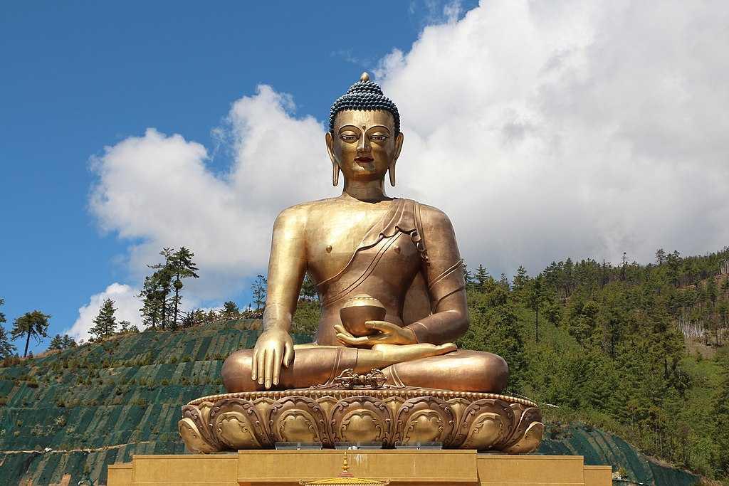 Buddha Dordena at Thimphu