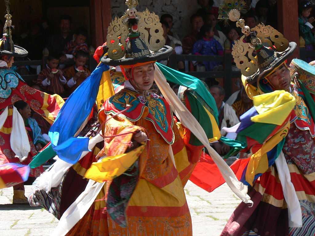 Jambay Lhakhang Drup Tsechu