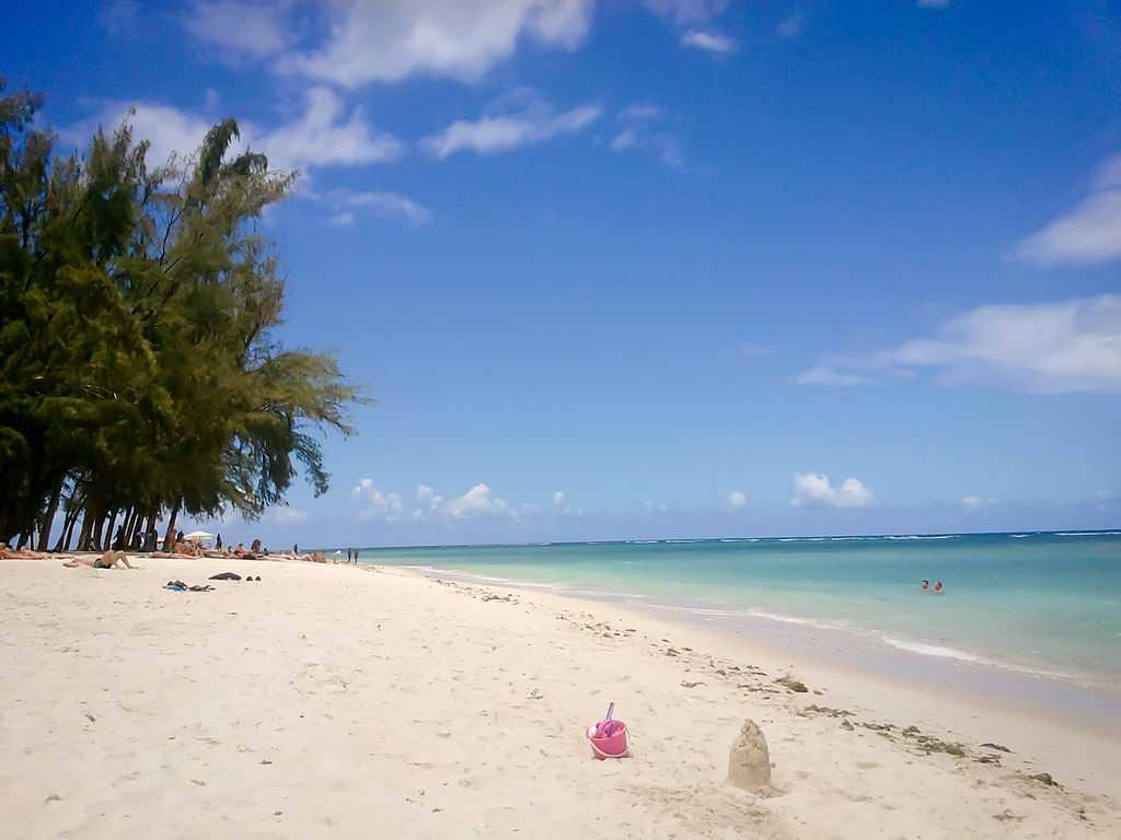 Flic en Flac, snorkelling in Mauritius