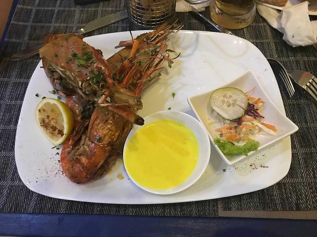 Seafood, Food in Mauritius