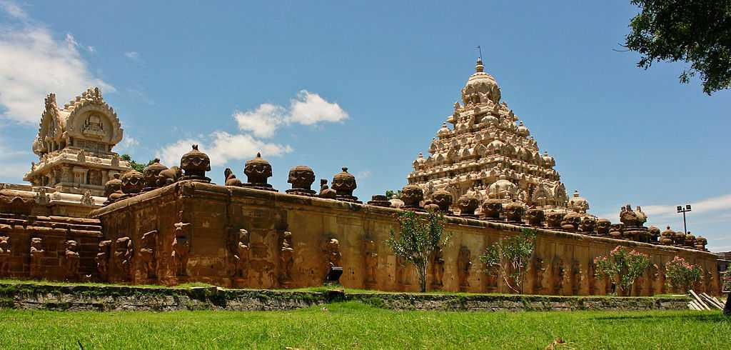 Kailasanathar Temple, Kanchipuram | Timings, Architecture, Photos