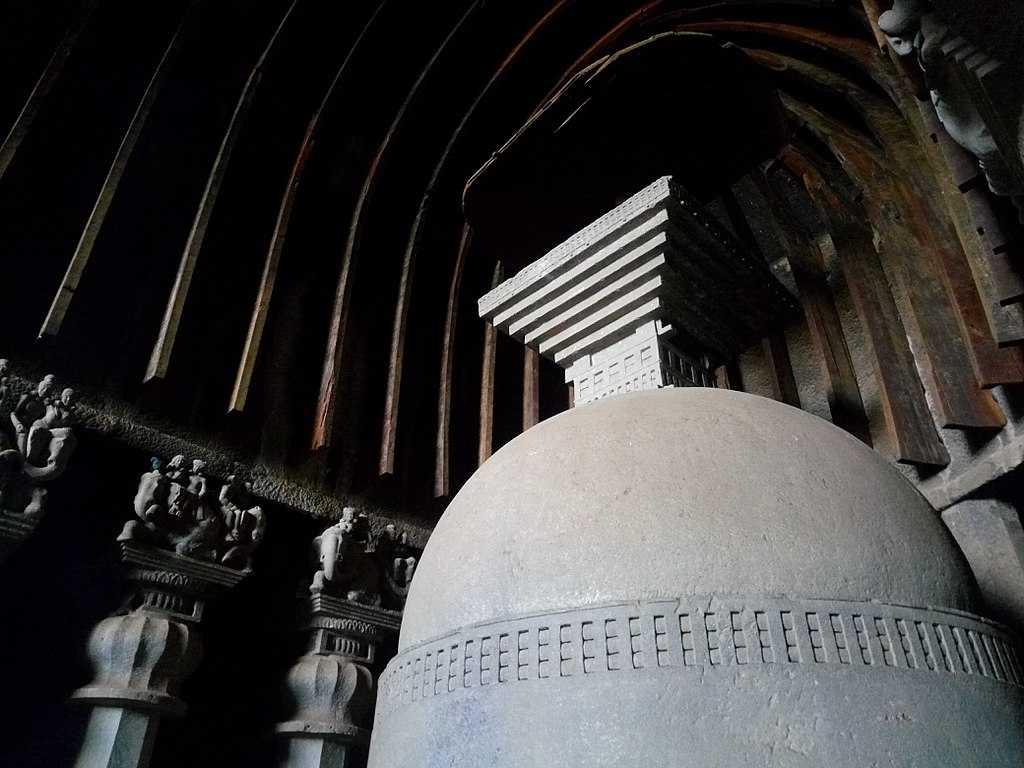 Stupa at Great Chaitya