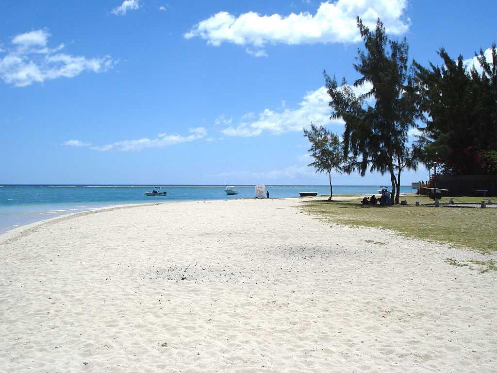 La Preneuse Beach, Mauritius in July