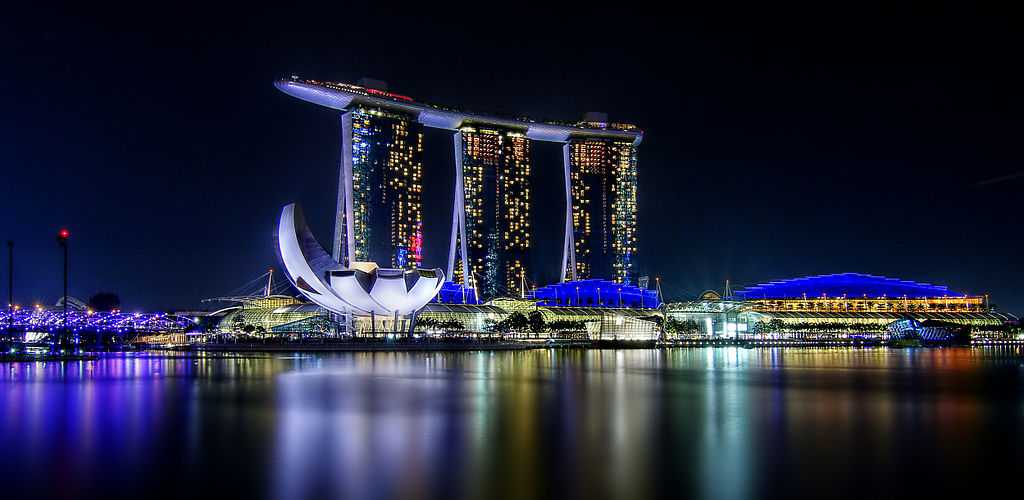 Marina Bay Sands, Top buildings in Singapore