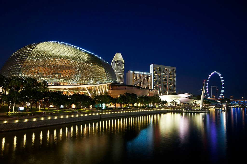 Esplanade Theatres on the Bay, Music Venue in Singapore