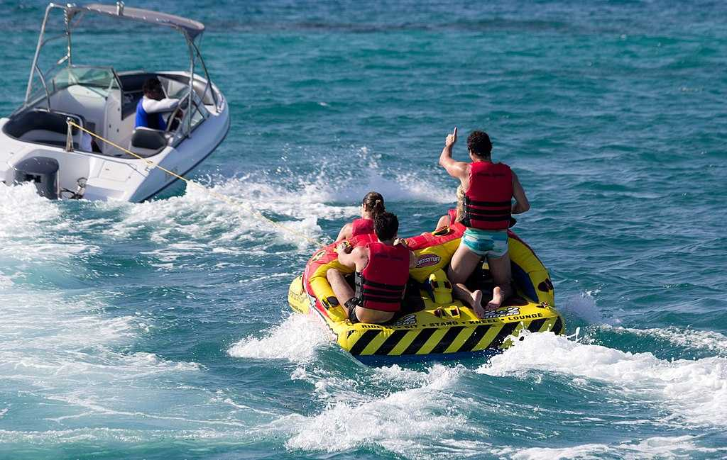 Watersports in Maldives with kids