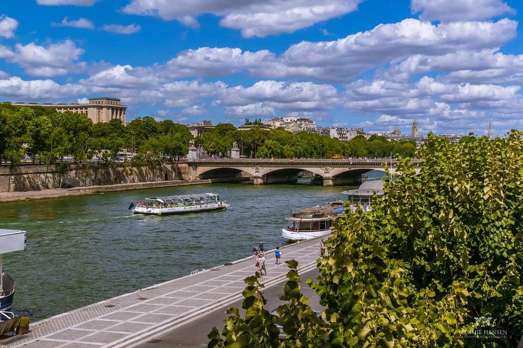 River Limousine, Pont Alexandre III, Paris
