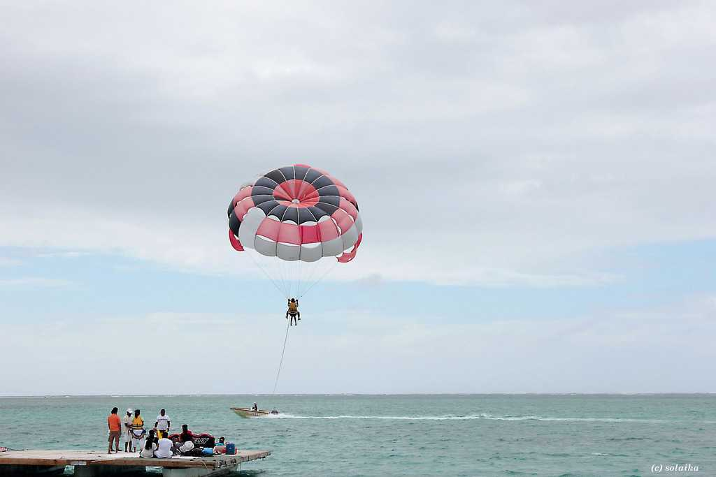 Parasailing, sea and water excursions in Mauritius, excursions in Mauritius