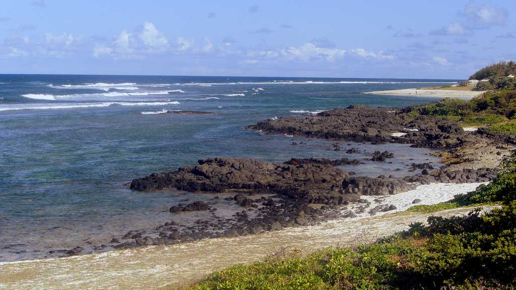 Roches Noires, Mauritius in September