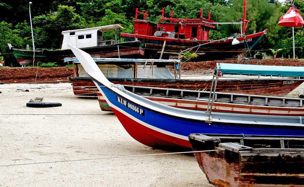 Boats in Malaysia