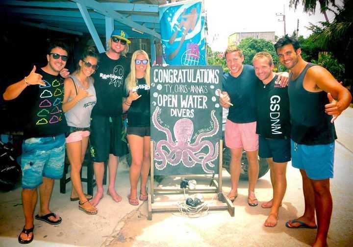 Roctopus Dive, Diving in Koh Tao