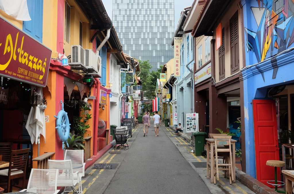 Cheap Shopping places in Singapore Haji Lane