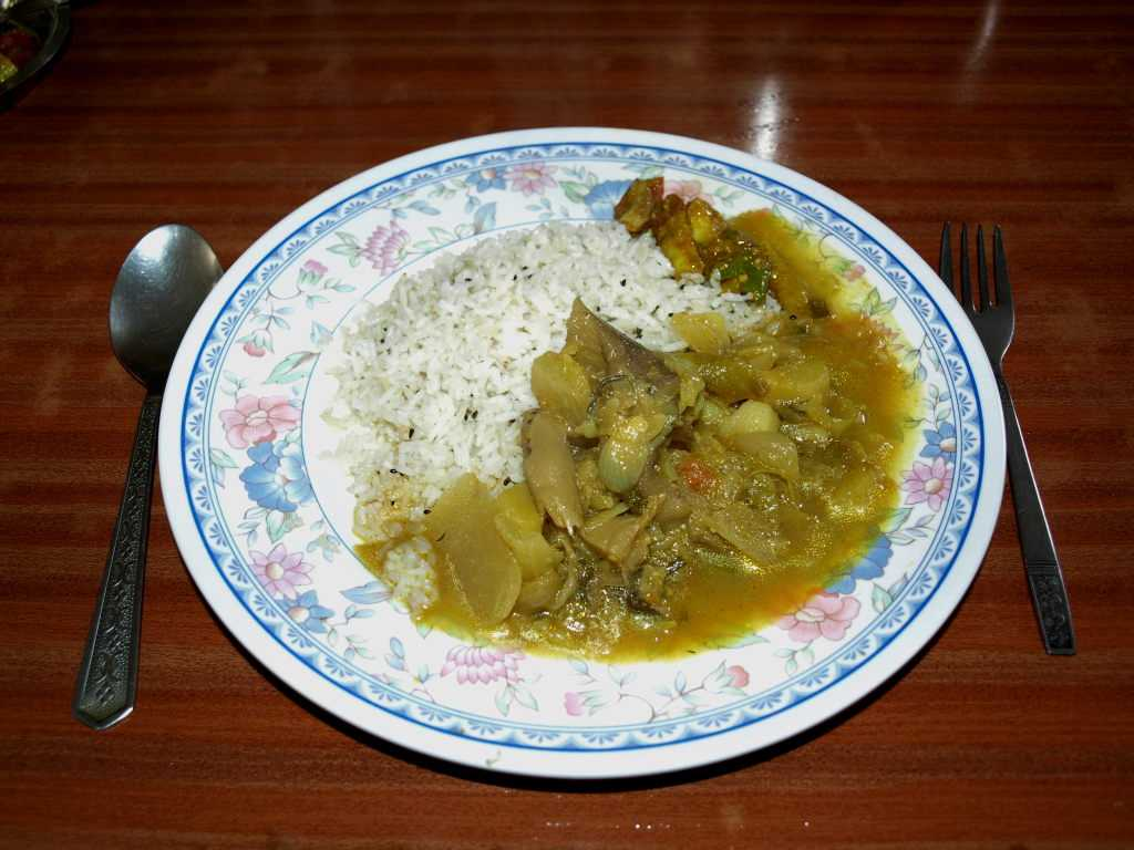 Dal-Bhat in Nepal