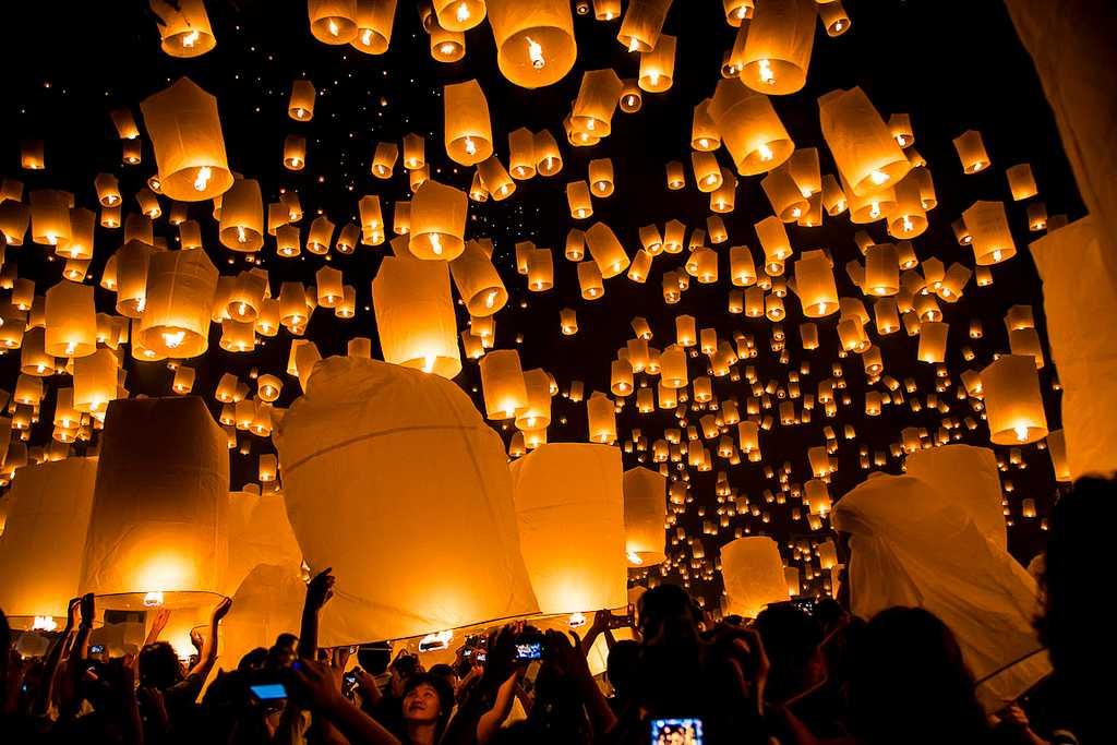 Yi Peng (Lantern Festival) : Festivals in Thailand