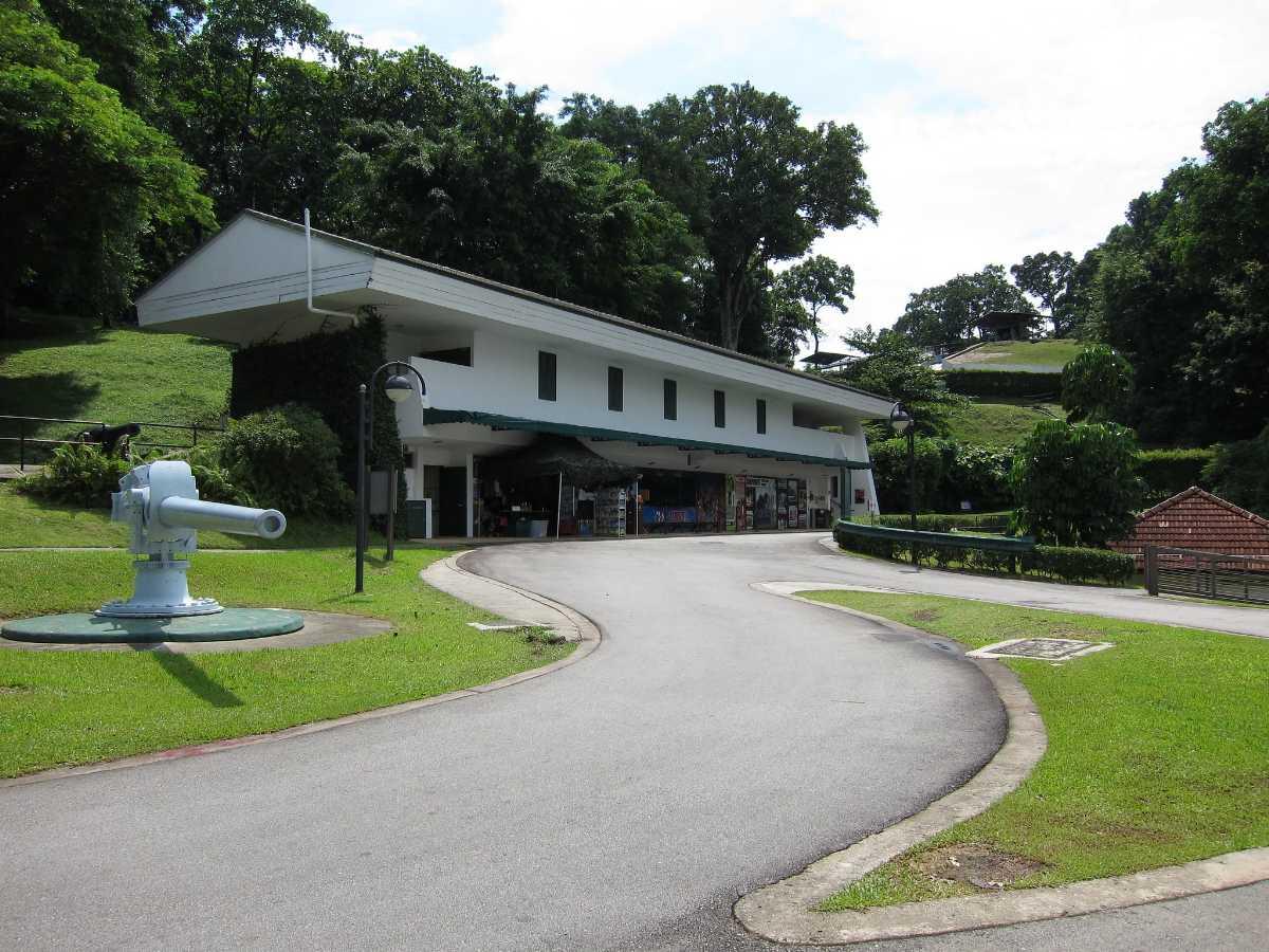 Fort Siloso Singapore