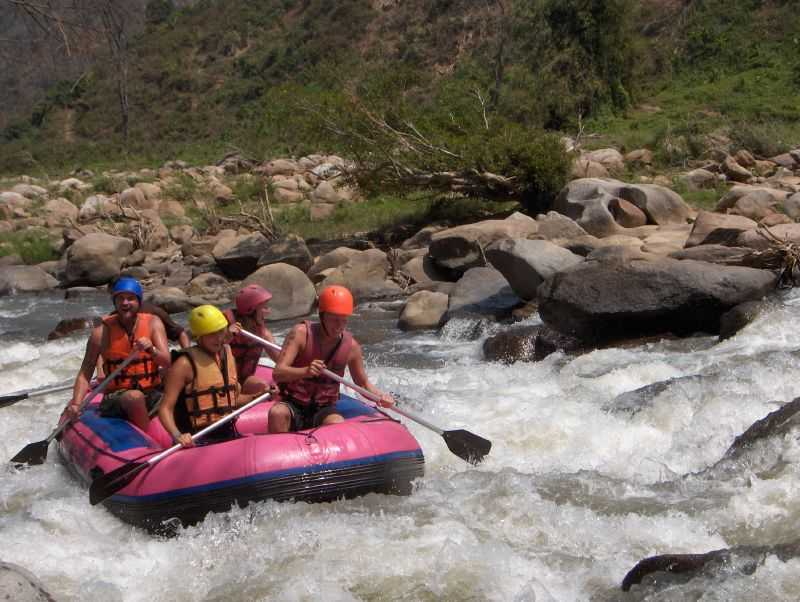 White Water Rafting in Chiang Mai, Thailand