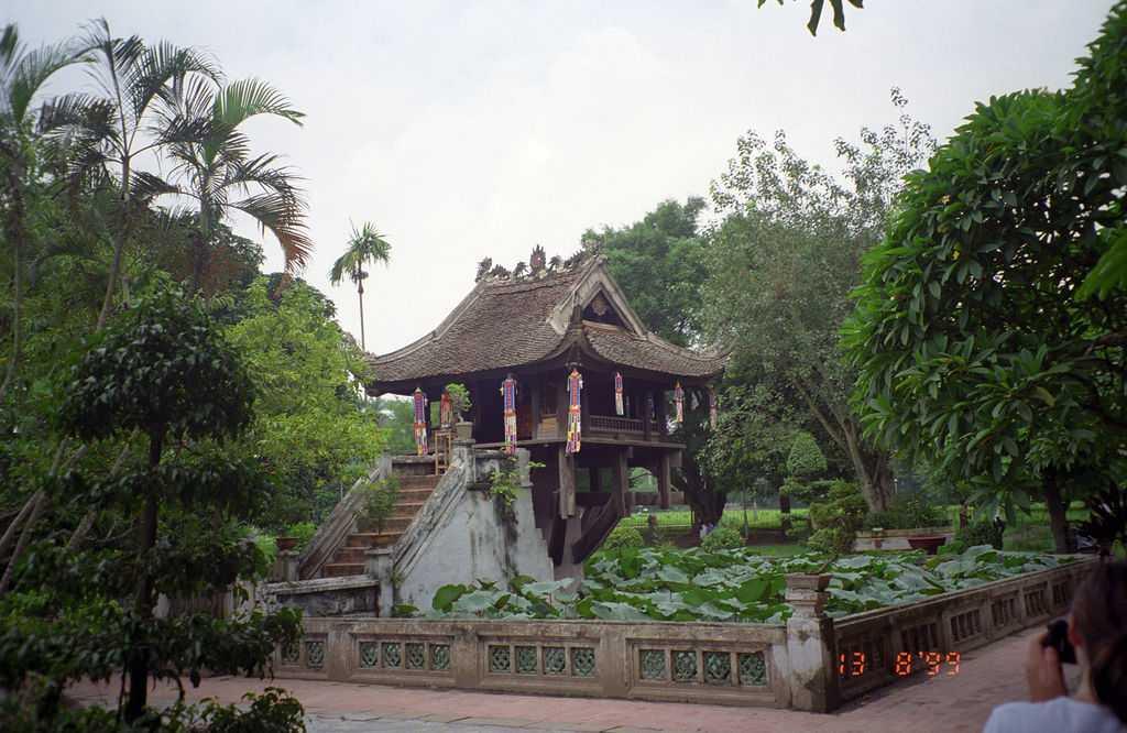 One Pillar Pagoda Garden