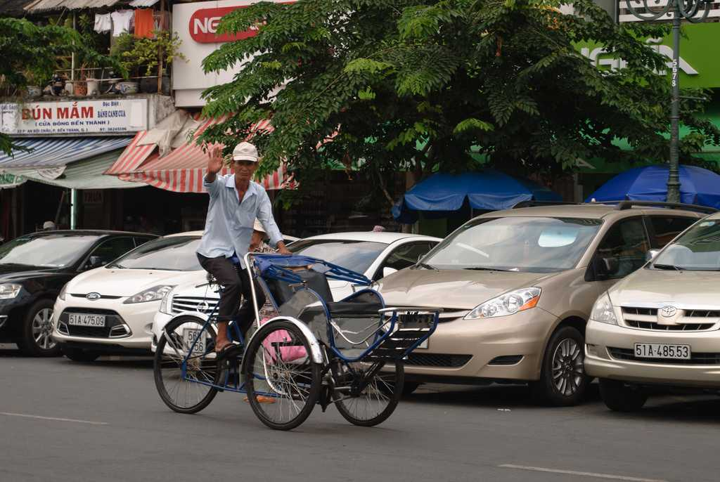Local transport in vietnam, cyclo