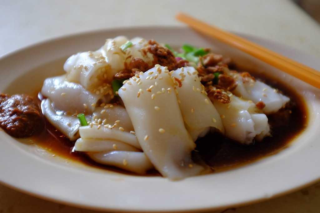 Chee Cheong Fun, Street Food in Kuala Lumpur