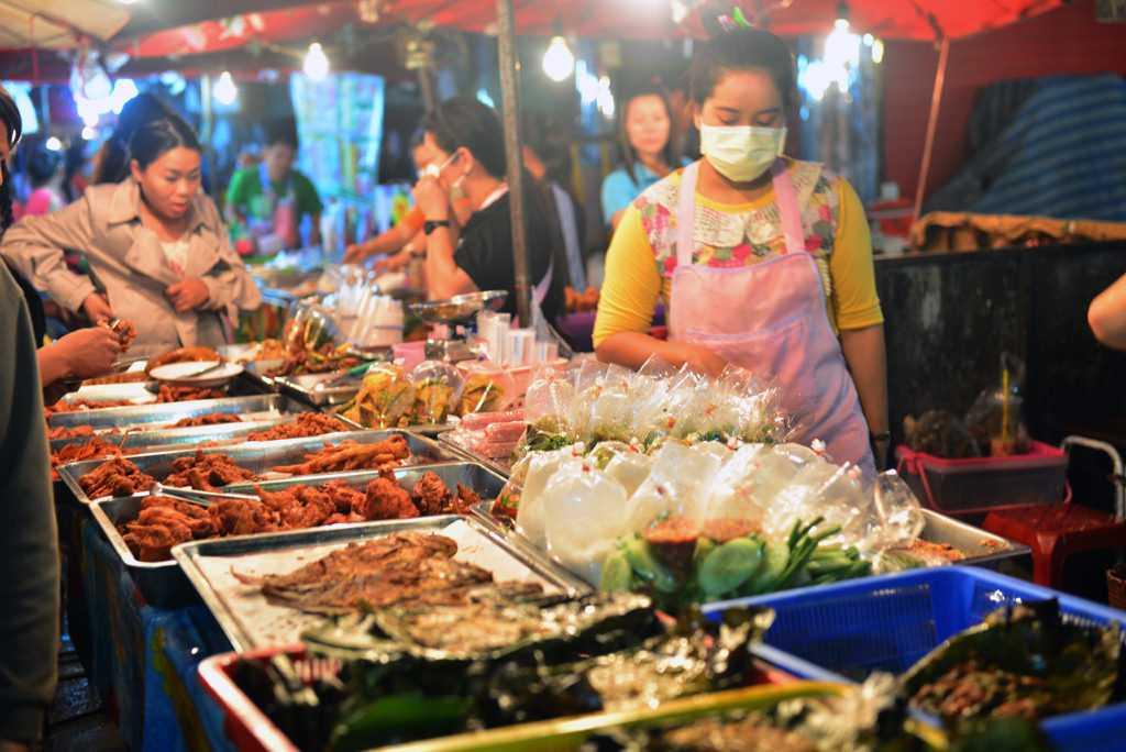 Food and Drinks at Chiang Mai Market