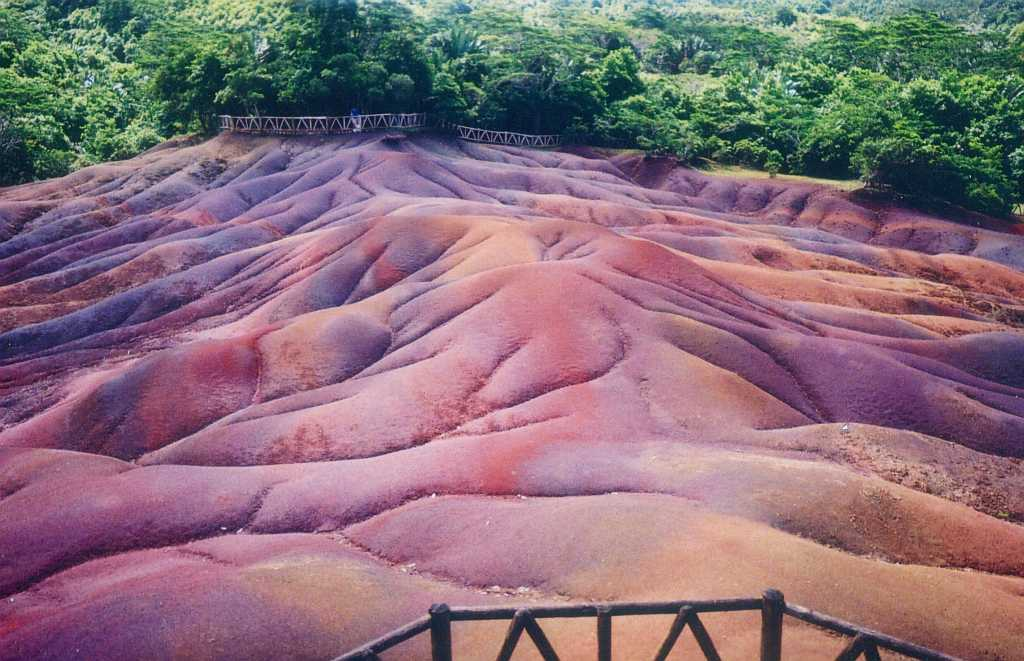 Coloured Earth Of Chamarel