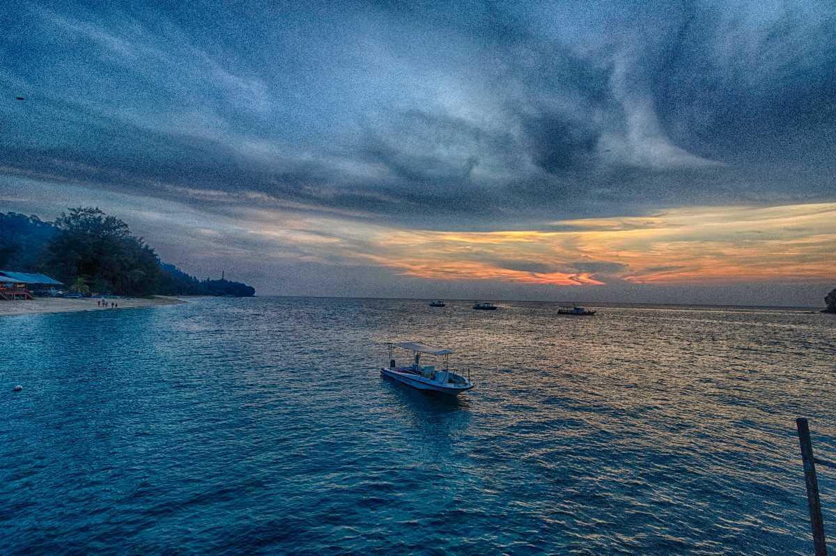 Tioman Island, Diving in Malaysia