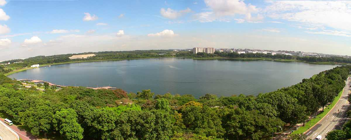 Bedok Reservoir Park, Cycling in Singapore