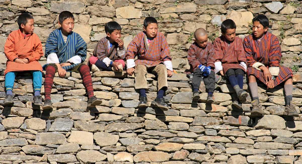 Dresses of bhutan