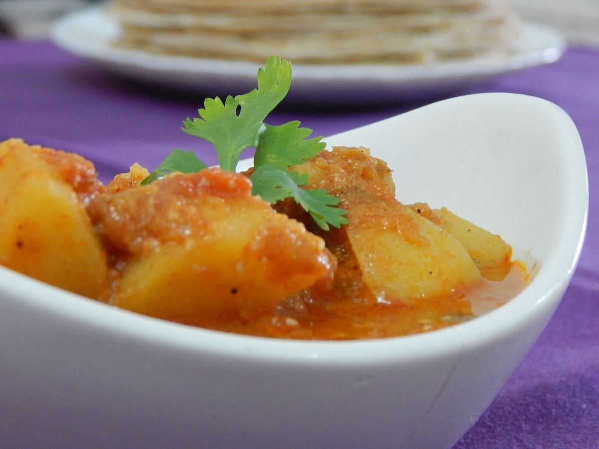 Spicy Aloo Sabji