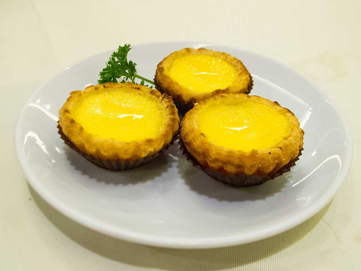 Dreamy Egg Tarts, Food in Hong Kong