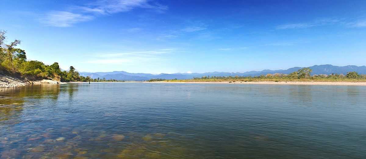 Lake near Nameri Eco Camp, Assam