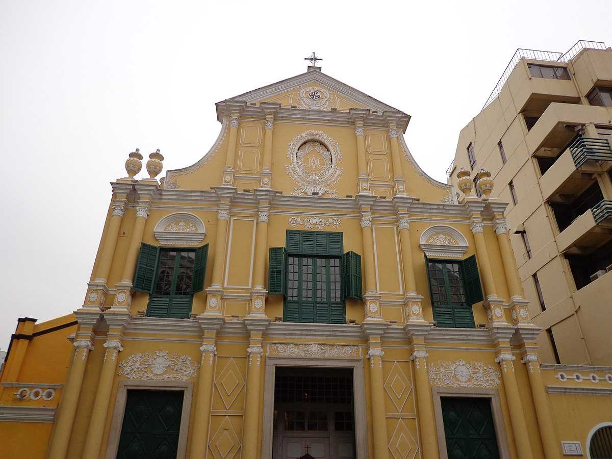 A Roman Catholic Church in Macau