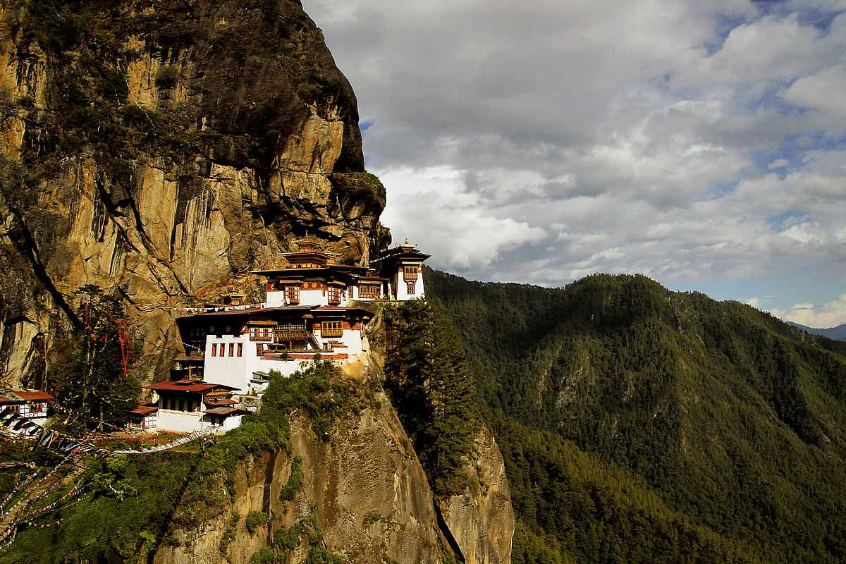 View of Paro Taktsang