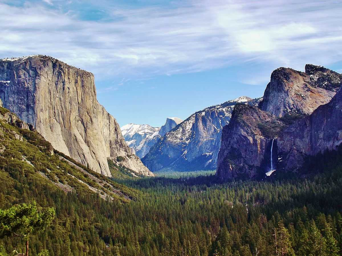 Yosemite Valley, California, Places to Slackline in the world