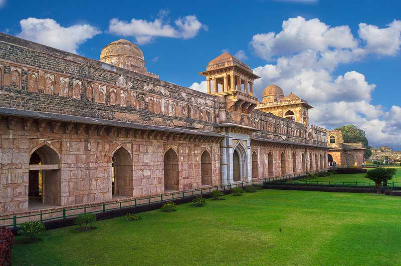 Jahaz Mahal, Mandu, Winter afternoon