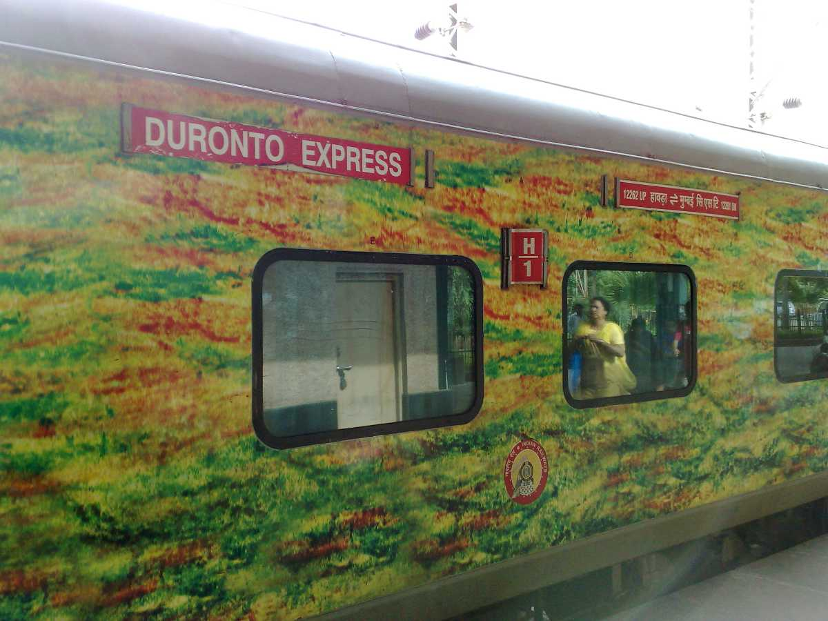duronto, ten superfast trains in India