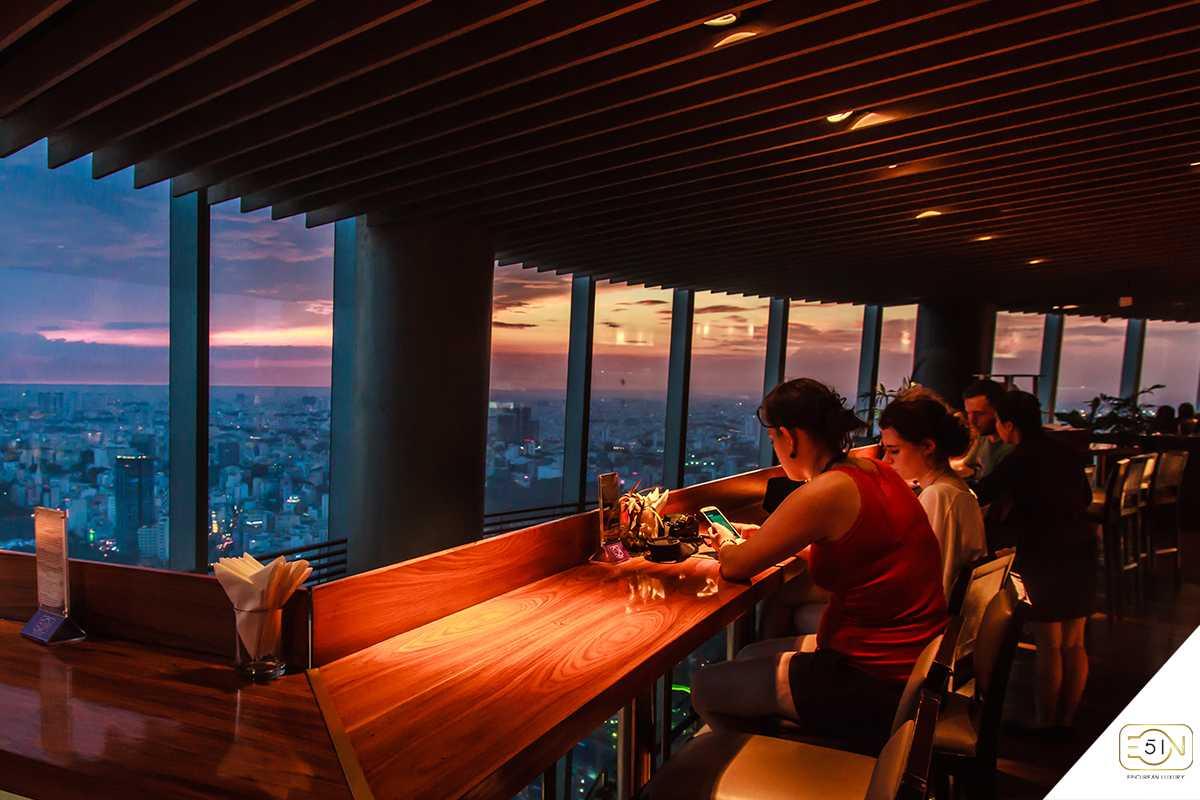 EON Heli Bar, Saigon Skydeck, Bitexco Financial Tower