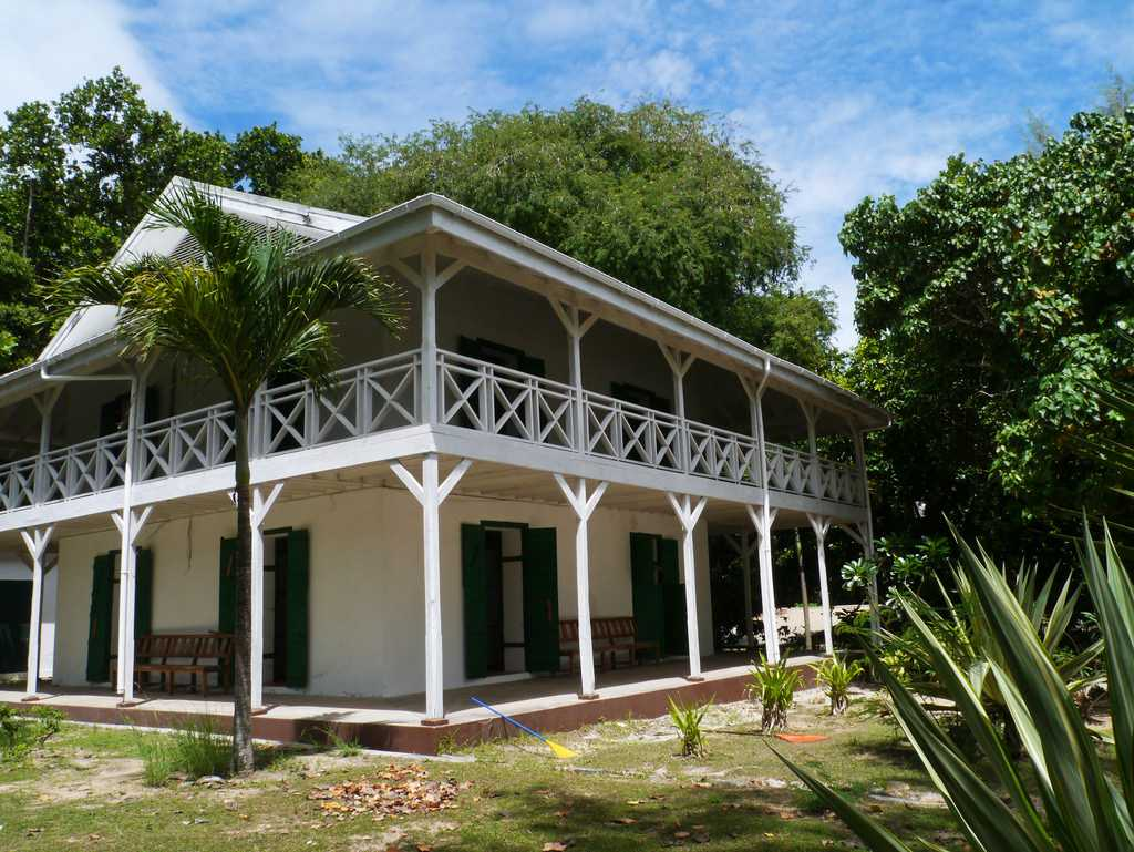 Doctor's House Museum at Curieuse Island Seychelles