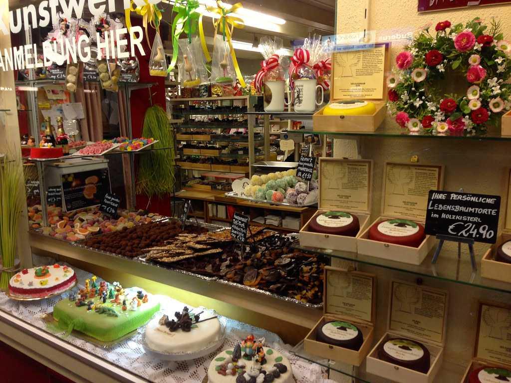 dessert shop, naschmarkt