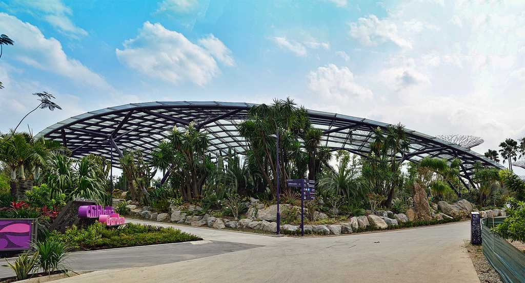 Sun Pavilion at Gardens by the Bay