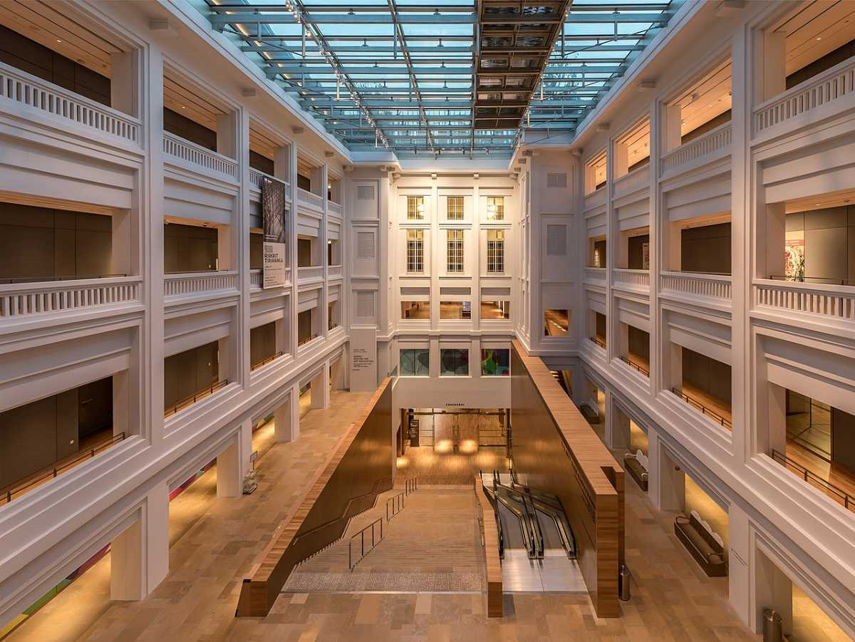 National Gallery Singapore Interior