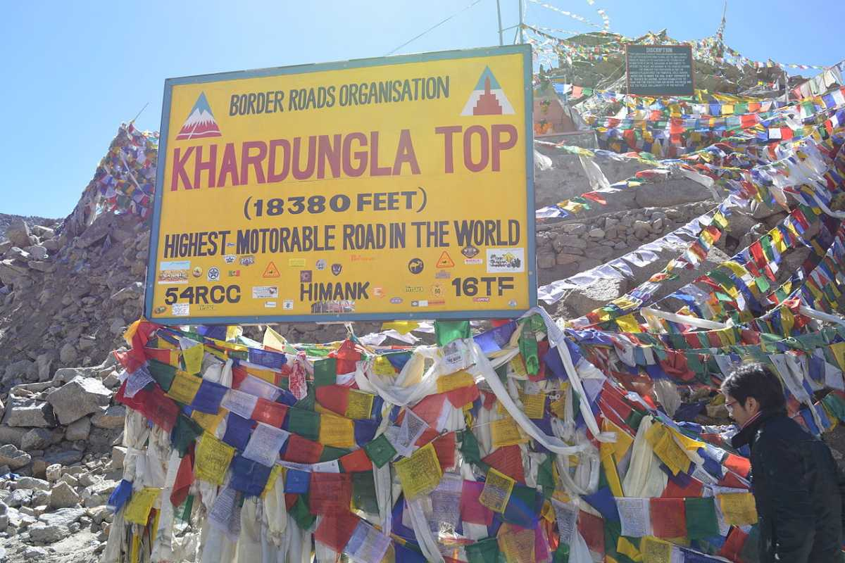 The Highest Motorable Road in the World