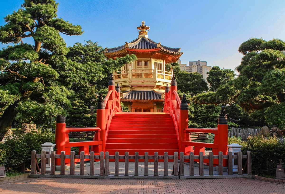 Pavilion of Absolute Perfection at Nan Lian Garden